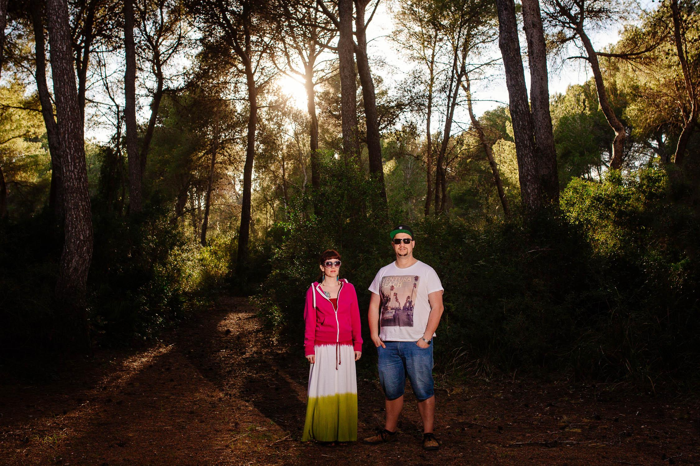 Paarshooting Hipster Style Mallorca