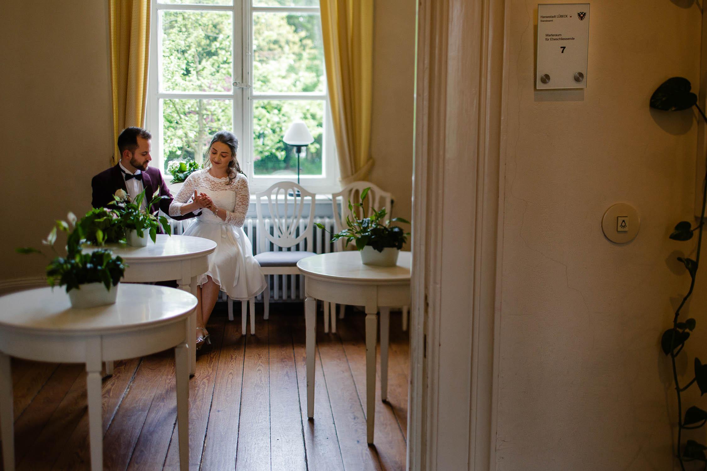 Hochzeit zu zweit in Lübeck 5