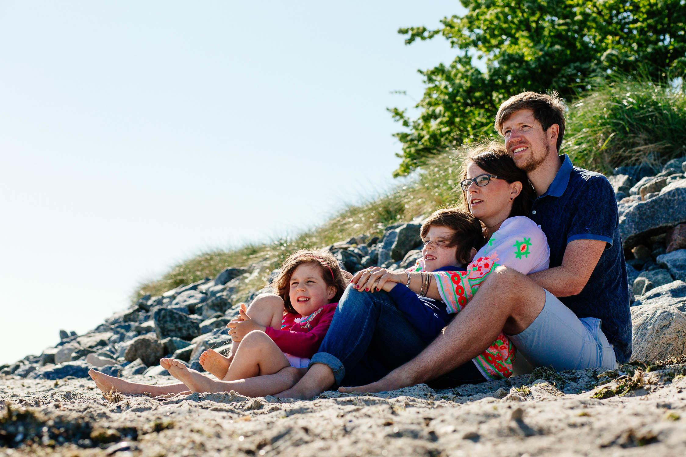 Familien Fotoshooting in Pelzerhaken 17