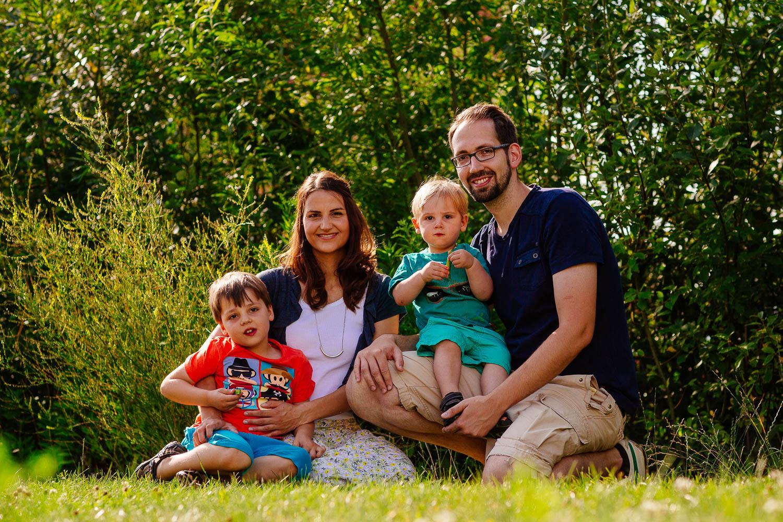 Familienbilder über die Jahre 15