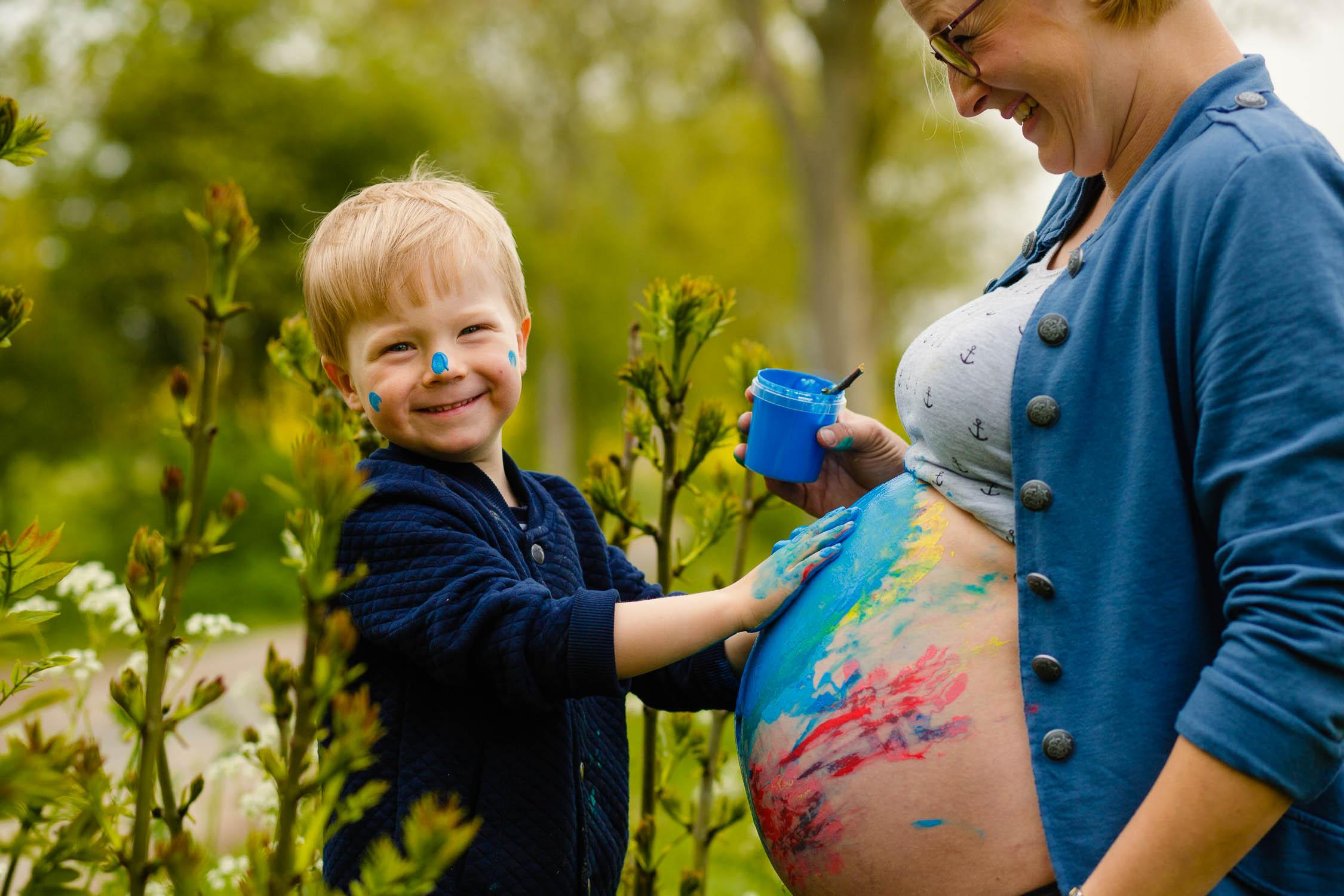 Babybauchshooting im Rapsfeld 21