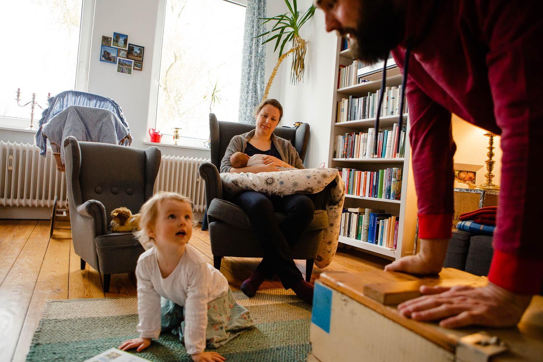 Wochenbett Reportage in Lübeck 34