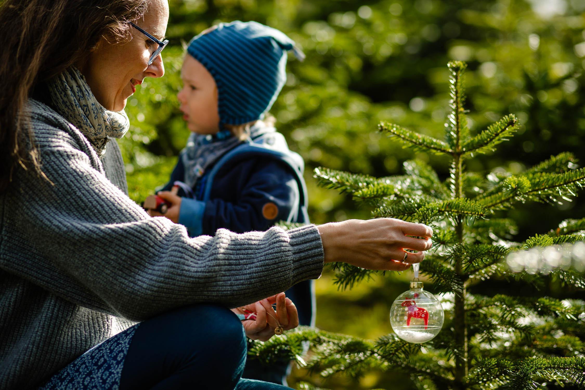 Weihnachtsfotoshooting mit Tanjas Familie 15