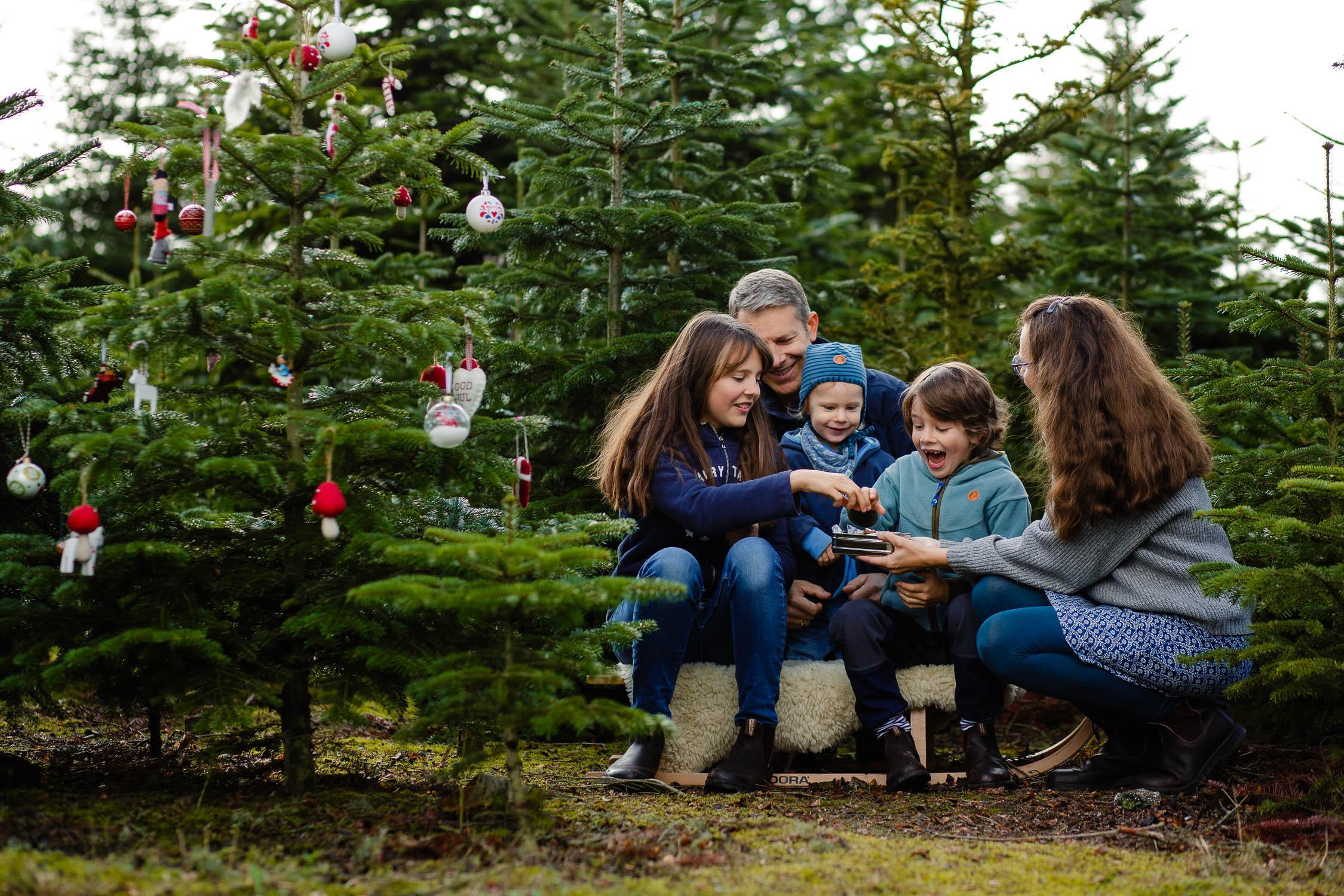 Weihnachtsfotoshooting mit Tanjas Familie 16